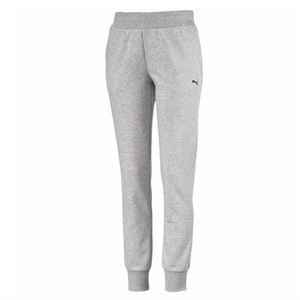 PUMA Women's Heather Grey Jogger Sweat Pants Small